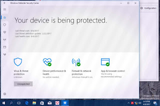 Windows 10  Defender best free antivirus software
