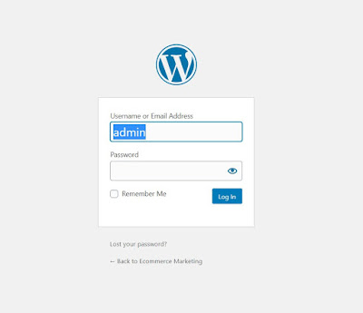 Lo primero que deberás hacer será loguearte en el panel de control administrativo de tu sitio web. Esto deberías hacerlo con un enlace similar a este: www.misitio.com/wp-admin, y aquí colocar tu nombre de usuario y contraseña.