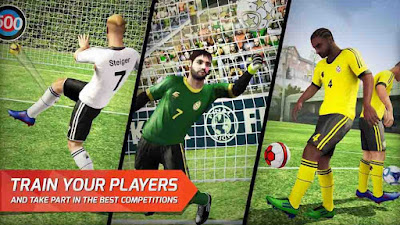 Final kick: Online football v7.5.5 Mod APK4