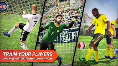 Final kick: Online football v7.5.5 Mod APK4