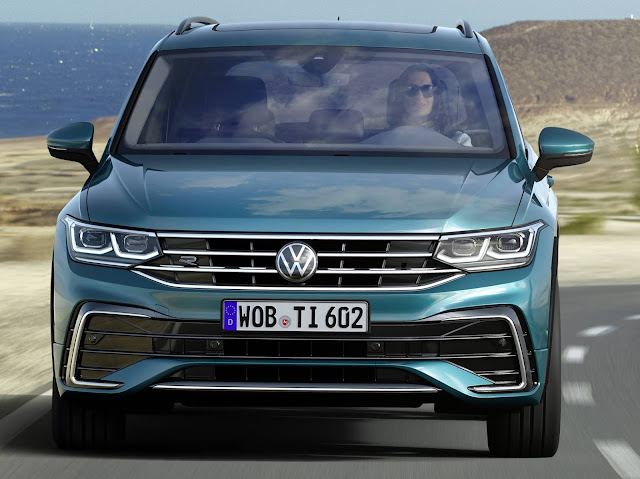 Novo VW Tiguan 2021 começa a ser vendido na Europa