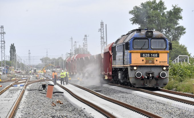 Az elmúlt 10 évben mintegy 600 kilométer vasúti pályát korszerűsítettünk