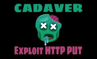 Cadaver on Kali Linux to exploit http put vulnerability