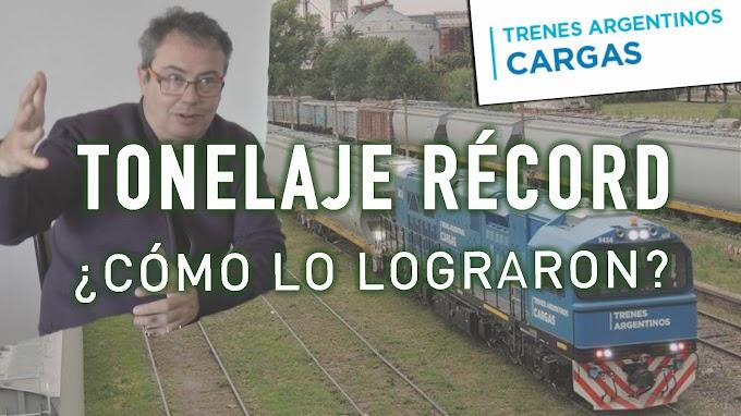 Video: ¿Cómo logró Trenes Argentinos Cargas otro récord de toneladas transportadas?