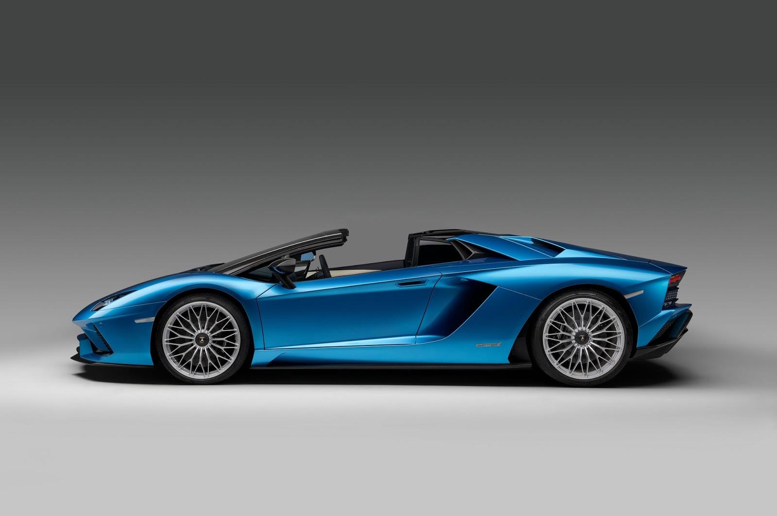 Lamborghini Has Chosen A First Choice Event To Introduce Its Last Model: Lamborghini  Aventador S Roadster At Last Frankfurt Auto Show.