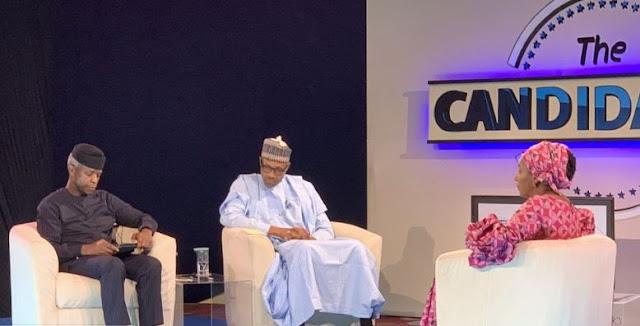 Ganduje: Let Buhari speak for himself, moderator cautions Osinbajo (DETAILS)