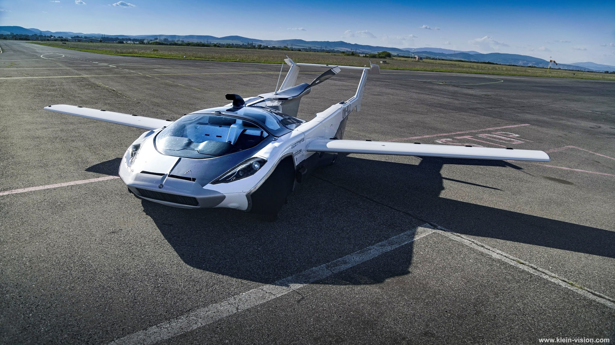 AirCar - The Flying Car Passed Flight Tests