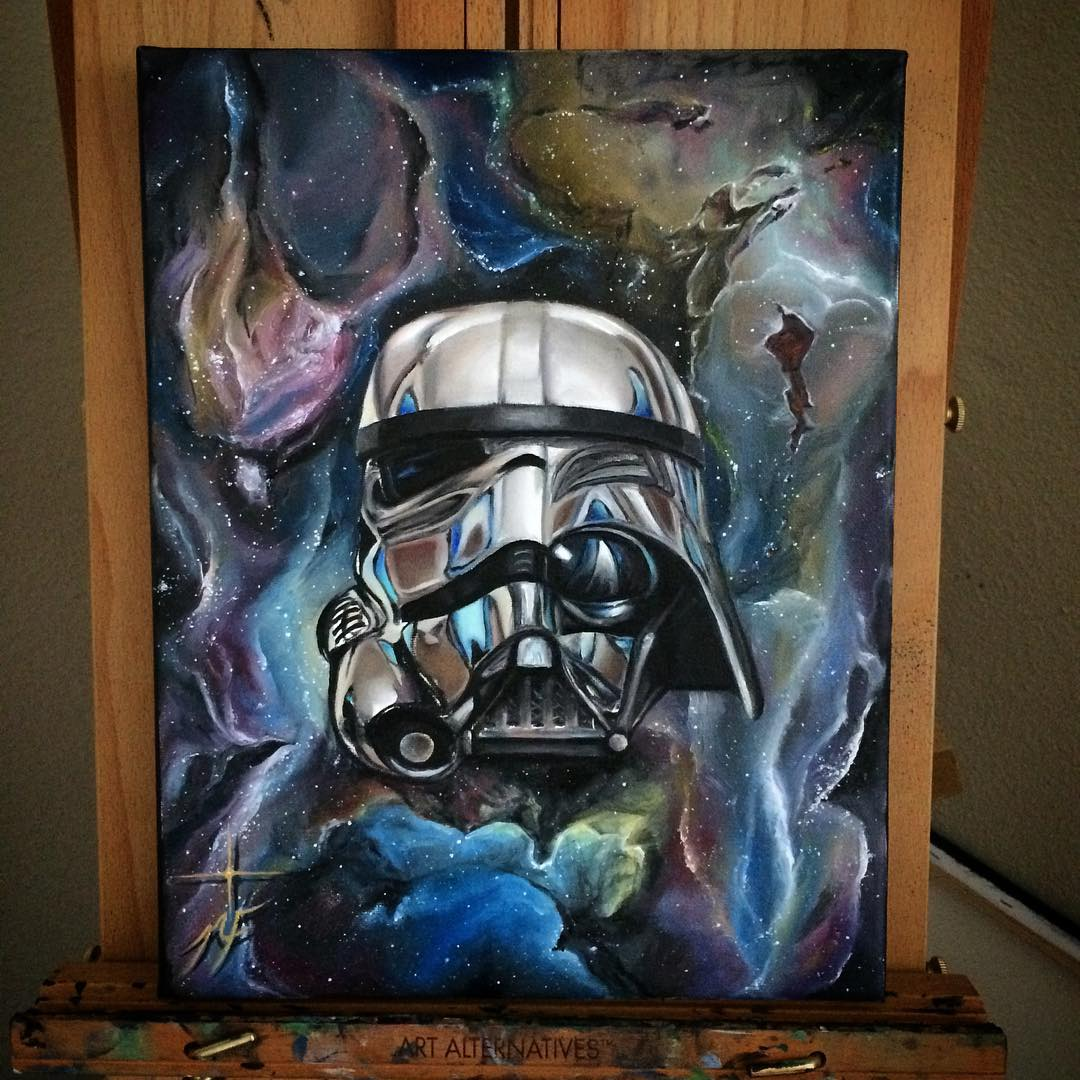 15-Star-Wars-Darth-Vader-Stormtrooper-Natasha-Farnsworth-Drawings-and-Paintings-Celebrity-Portraits-www-designstack-co