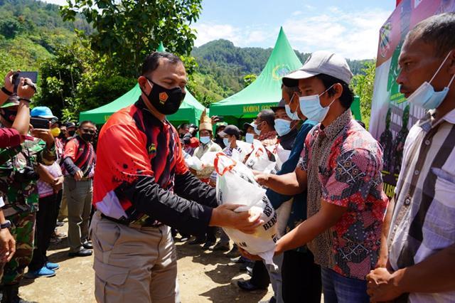 """Danrem 022/PT  Hadiri Kejuaraan Menembak """"1st Indonesia Long Range Shooting Grand Prix 2021"""" di kawasan Danau Toba."""