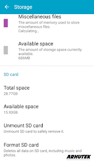 Cara Format MicroSD