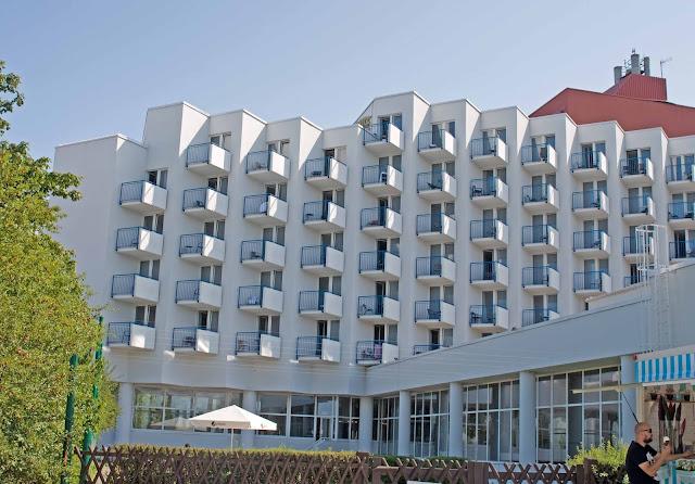 Amber Baltic hotel Międzyzdroje,
