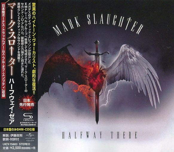 MARK SLAUGHTER - Halfway There [Japanese SHM-CD +1] (2017) full