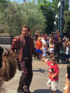 Star Lord Disney Parks Character