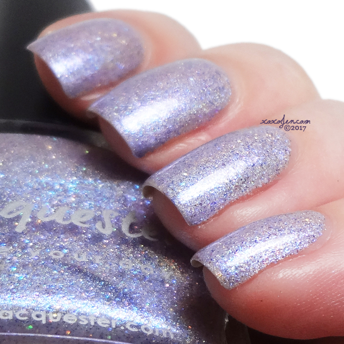 xoxoJen's swatch of Lacquester I Lilac You