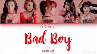 Terjemahan Lirik lagu Bad Boy Red Velvet