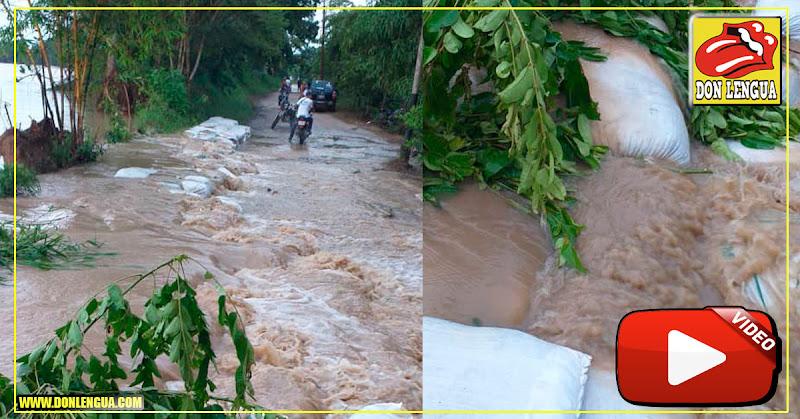 Se desborda el Río Arauca en Apure y amenaza comunidades enteras
