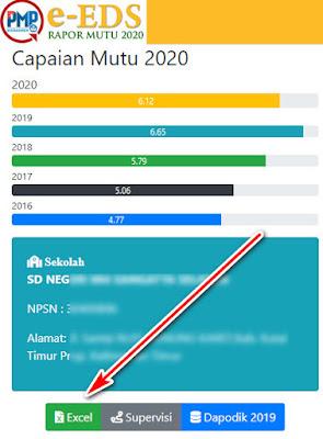 raport mutu pmp tahun 2020