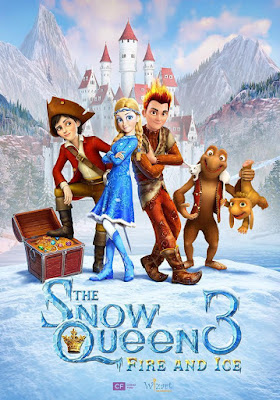 The Snow Queen 3 Fire And Ice 2016 DVDCustom HDRip NTSC Dual Latino