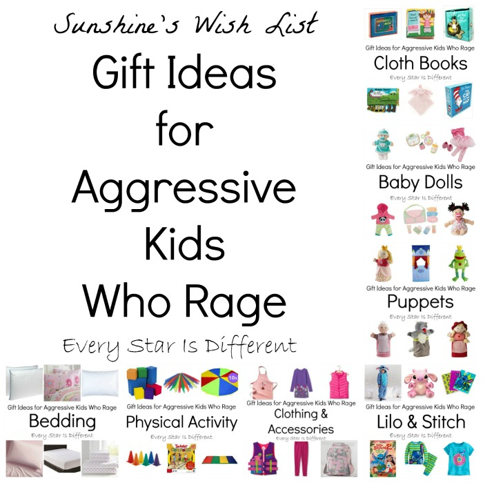 Gift Ideas for Aggressive Kids Who Rage