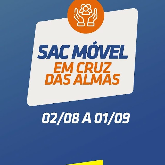 SAC Móvel começa a atender na Praça Senador Temístocles nesta segunda (02)