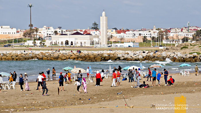 Rabat Three Day Itinerary Rabat Beach