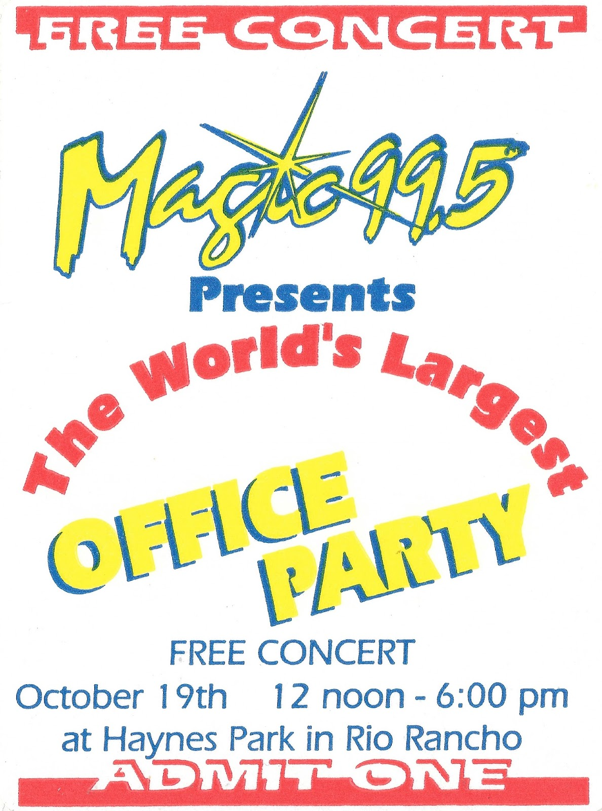 995 Magic FM KMGA Is An Adult Contemporary Station In Albuquerque New Mexico