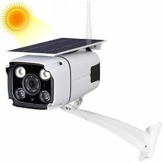 telecamera wifi con solare esterno