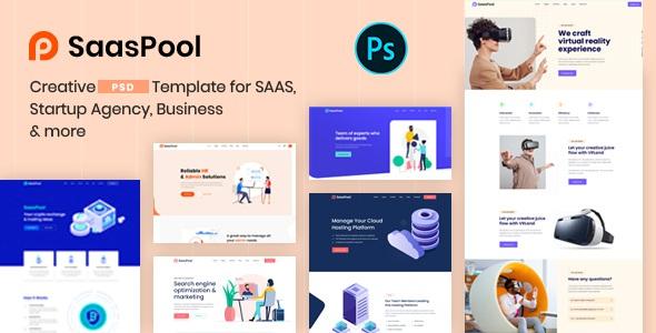 Best Creative Multipurpose PSD Template