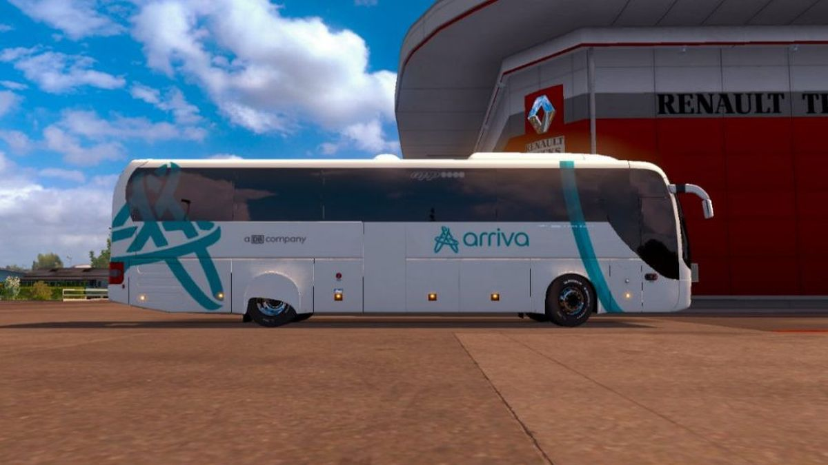 Lion's Coach Arriva APP MAN