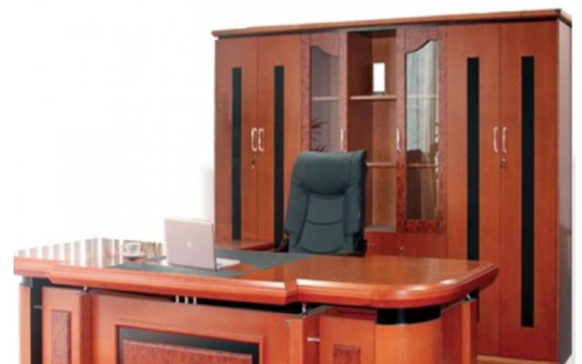 Tủ gỗ Veneer cao cấp cho không gian làm việc sang trọng