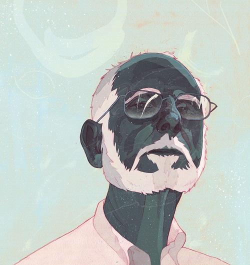 """Cover for Bill Magazine"" by Patryk Hardziej, 2016   creative illustration art drawings, cool stuff, pictures   imagenes chidas imaginativas, ilustraciones modernas"