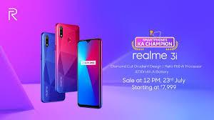 Realme 3i price in India
