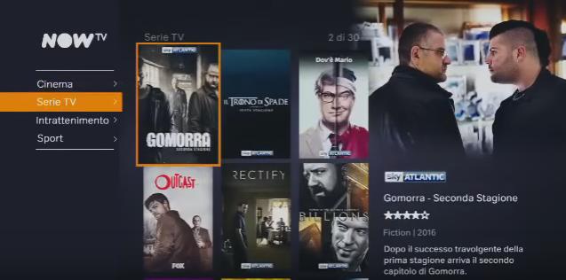 Canzone Pubblicità Now TV MESE 2016