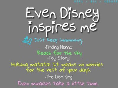 Disney Motivation