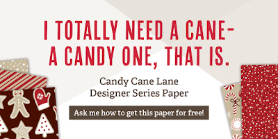 Candy Cane Lane Paper Sale Image