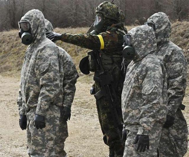 Chemical Nuke War Protective Gear