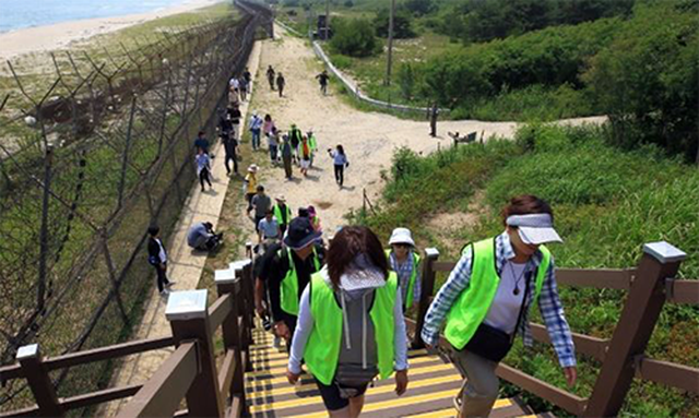Korea reopened the DMZ Paju tourist trail tour