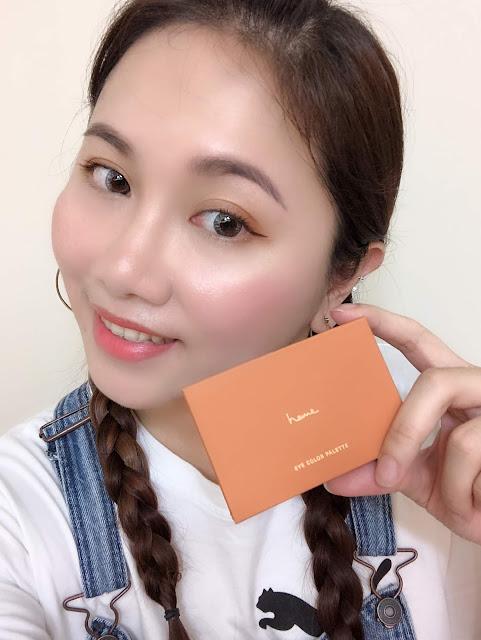 Heme 六色眼影盤- 楓糖芒果Mango新色試色及妝容分享