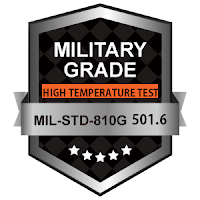 "Military Grade MIL-STD-810G 501-6 - High Temperature Test 7"" to 18"" Touchscreen Display Monitors www.xenarc.com"