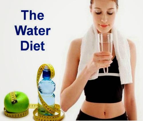 3 Cara & 2 Langkah Langsing Alami Dengan Diet Air Putih