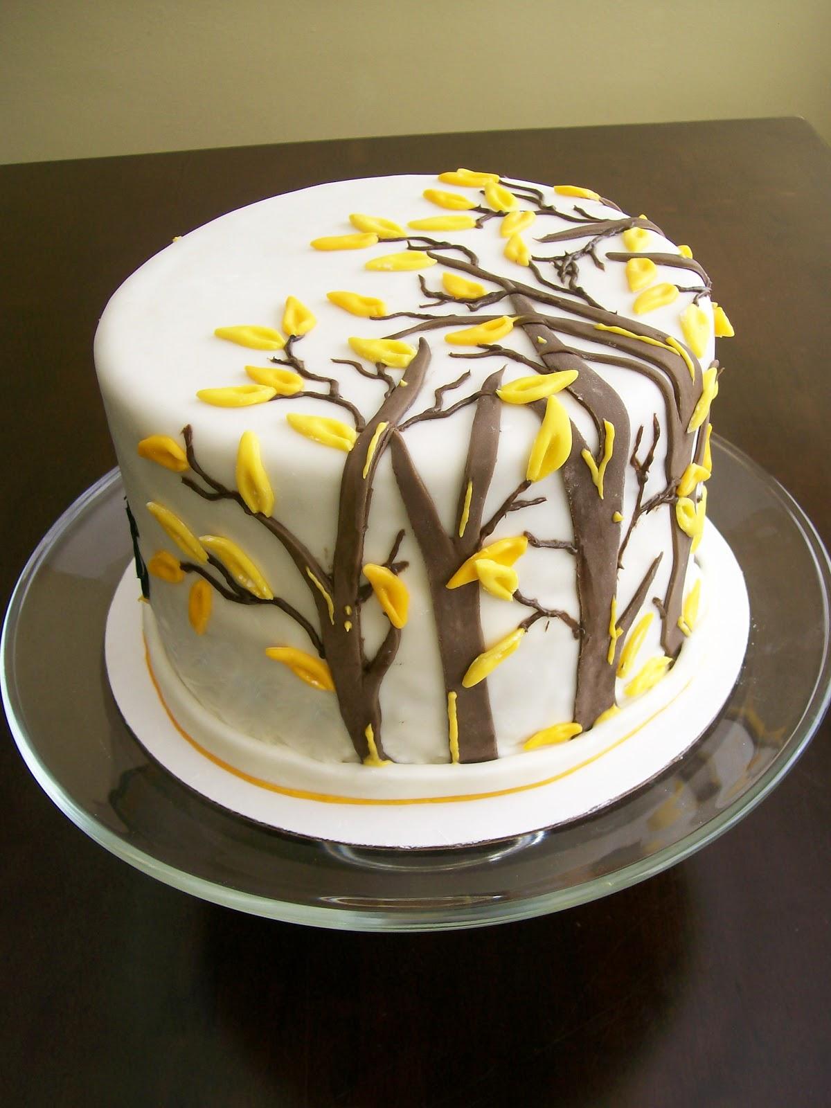 Wild Rumpus Marshmallow Fondant Cake