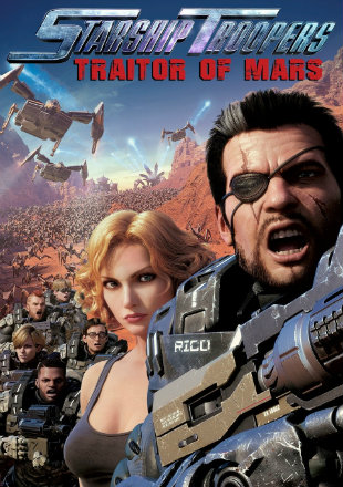 Starship Troopers: Traitor of Mars 2017 BRRip 720p Dual Audio Hindi English