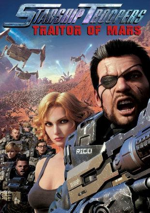 Starship Troopers: Traitor of Mars 2017 BRRip 720p Dual Audio Hindi English