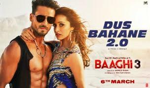 BAAGHI 3 (2020) | Dus Bahane 2.0 : Hindi song lyrics . बेस्ट दस बहाने करके ले गये दिल 2.0 Baaghi हिंदी Lyrics