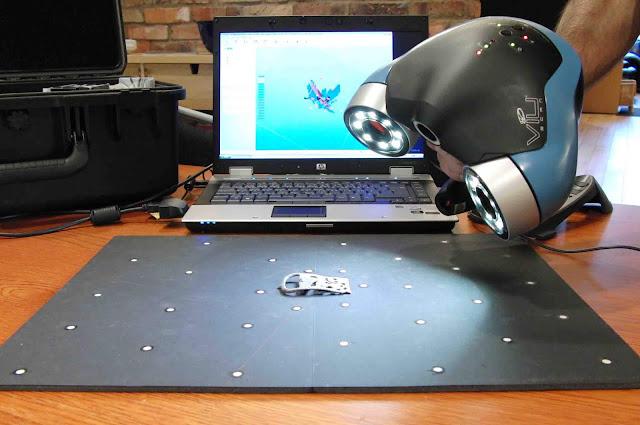 Teknologi pemindai objek 3D