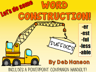 Suffix PowerPoint... introducing six basic suffixes!