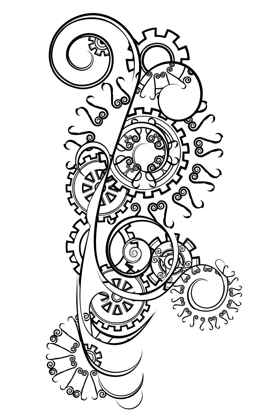 A Wolf Illustrations Blog: Tattoo Design