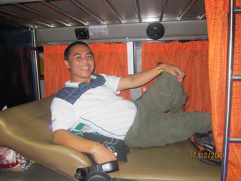 journey with style Isarog Bus Sleeper