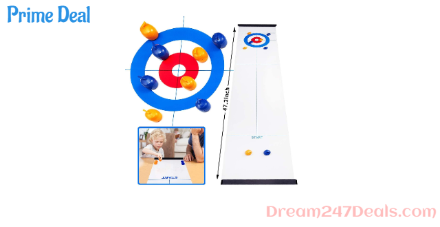 50% off Curling Board Game Table Top