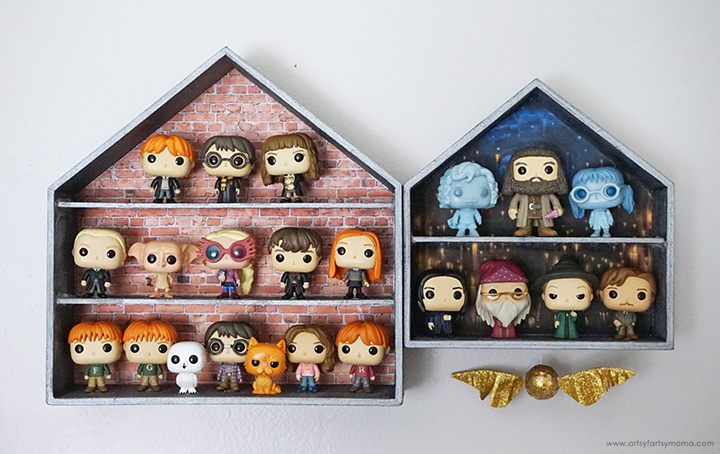 DIY Harry Potter Funko Pop Display